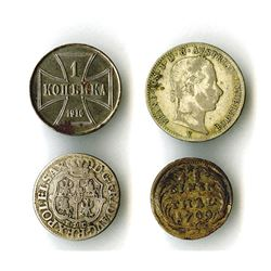Germany and Austria, 1700-1916, Quartet of Better Coins