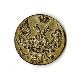 Poland, Revolutionary Coinage, 1831, 3 Grosze