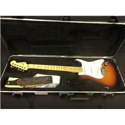 FENDER STRATOCASTER  ELECTRIC GUITAR, 3-TONE BURST, MADE IN USA