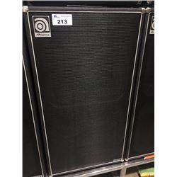 AMPEG CLASSIC SVT810AV 800 WATT BASS CABINET, MADE IN USA, SERIAL NUMBER: BQCDPB0010