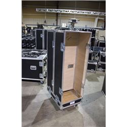 CUSTOM BUILT GUITAR CAB ROAD CASE, 52.5'' X 27'' X 17'', USED FOR AMPEG BASS CABS OR SIMILAR SIZE