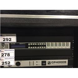 ELECTRO-VOICE DX46 IRISNET TWO IN/SIX OUT FIR-DRIVE SOUND SYSTEM PROCESSOR