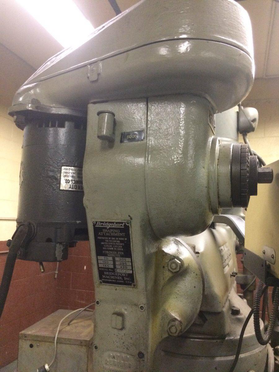 Bridgeport 9X49 Vertical mill with shaper head