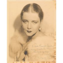 Vilma Banky Oversized Signed Photograph