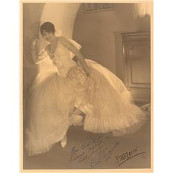 Lina Basquette Oversized Signed Photograph