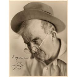 Chester Conklin Oversized Signed Photograph