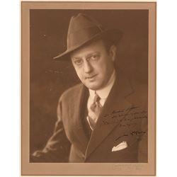 Jesse Lasky Signed Photograph