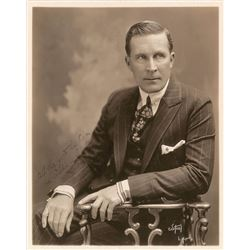 William Desmond Taylor Signed Photograph