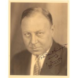 Emil Jannings Signed Photograph