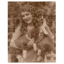 Mary Pickford Oversized Signed Photograph