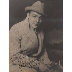 Wallace Reid Signed Photograph
