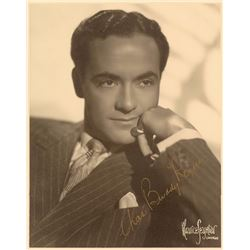 Charles 'Buddy' Rogers Oversized Signed Photograph