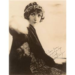 Constance Talmadge Oversized Signed Photograph