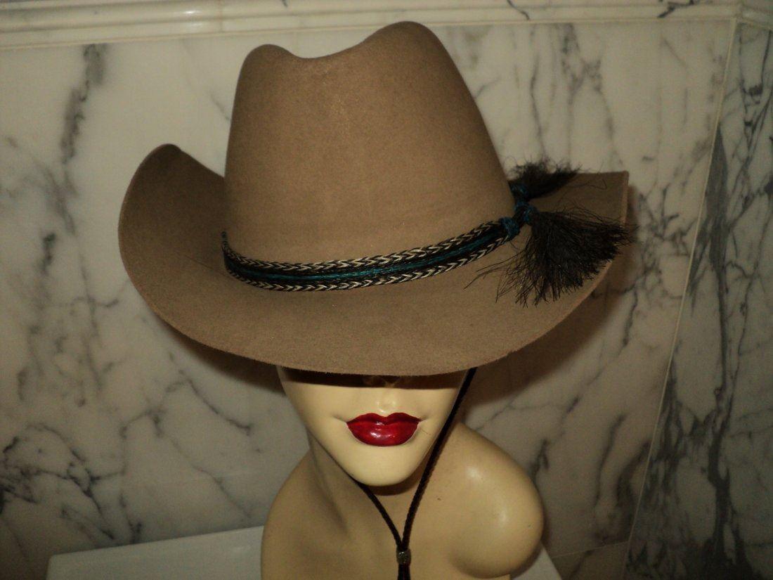 b336778868b93 Image 1   Resistol 1960 Cowboy Hat Roundup Collection Horse Hair ...