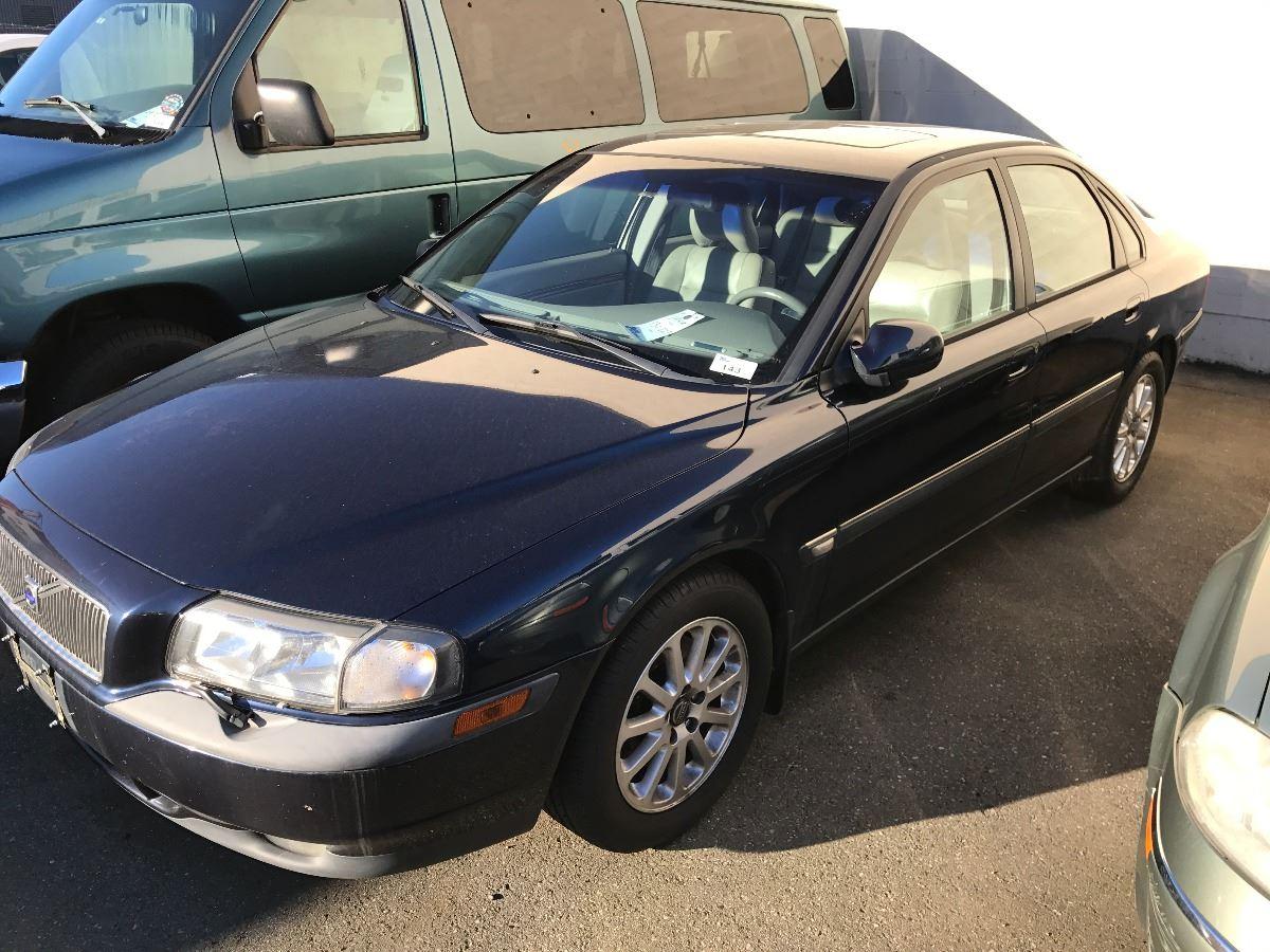1999 Volvo S80 T6 4 Door Sedan Blue Vin Yv1ts90d4x1010981
