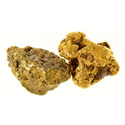 Two Nome Gold Nuggets