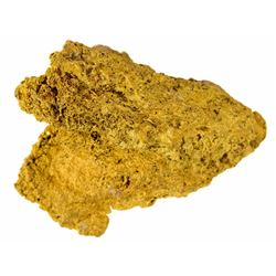 Gold Nugget from the Rare Locale of the Vulture Mine