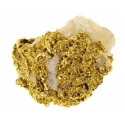 Wonderful 16:1 Mine Gold-in-Quartz Specimen