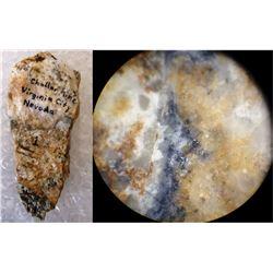 Chollar Mine Gold Hand Specimen