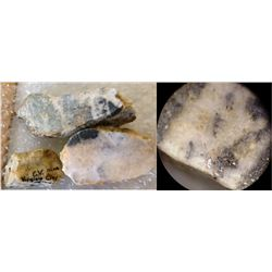 Con Virginia Mine Gold Hand Specimens