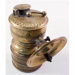 Arrow Brass Carbide Lamp