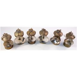 Six Autolite Lamps