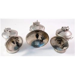 Two Early Varieties of Autolite Carbide Lamps