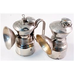 Two Varieties of the Baldwin Small Carbide Lamp