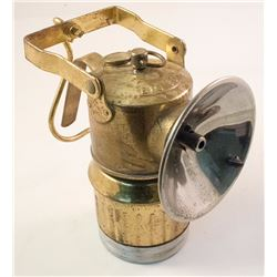 Single Big Boy Superintendent-Style Carbide Lamp