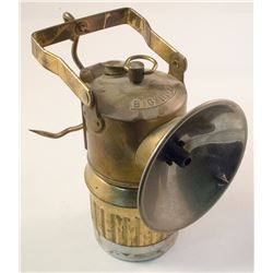 Superintendent Style Big Boy Carbide Lamp