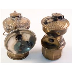 Two Rare Buddy Carbide Lamps