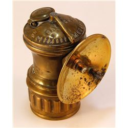 Rare Daylight Brass Carbide Lamp