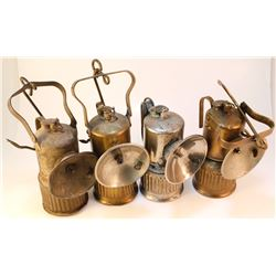 Four Dew-R-Lite Superintendent Style Lamps