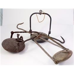 Three Frog Style Mining Lamps