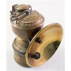 Grier Small Size Brass Carbide Lamp