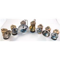 Seven Guy's Dropper Brass Carbide Lamps