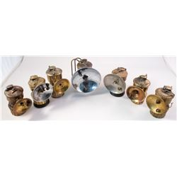 Seven Different Guy's Dropper Carbide Lamps