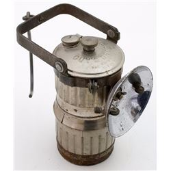 Nice Nickel-Plated Guy's Dropper Carbide Lamp