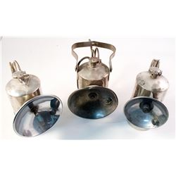 Three Different ITP Small Size Carbide Lamps