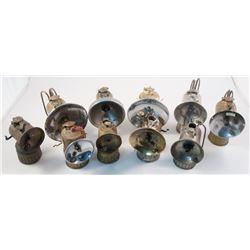 10 Justrite Small Size Carbide Lamps