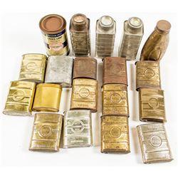 Justrite Carbide Can Collection
