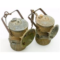 Lu-mi-num Superintendent Style Carbide Lamps