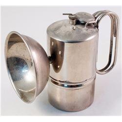 Rare Nickel Plated Simmons Carbide Lamp