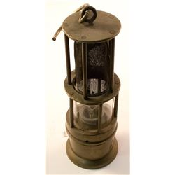 Early WIC Style Safety Lamp