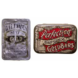 Two Gold Tins