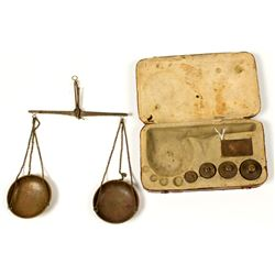 Gold Rush Miners Scale with Weights