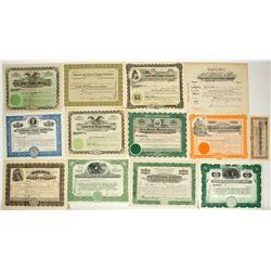 Jerome, Arizona Mining Stock Certificate Collection