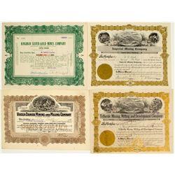 Mohave County, Arizona Mining Stock Certificates