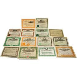 Oatman, Arizona Mining Stock Certificate Collection