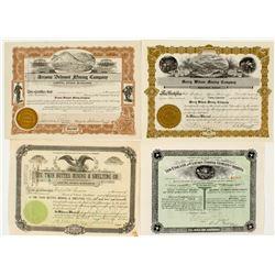 Pima County, Arizona Mining Stock Certificates